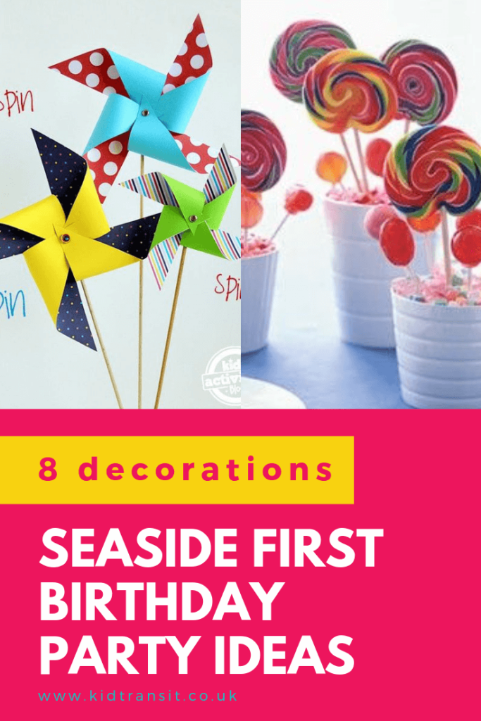 Check out 8 brilliant decor ideas for a seaside theme first birthday party