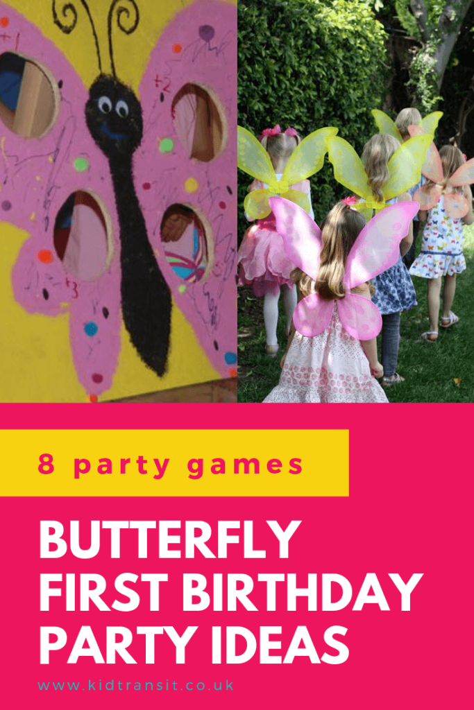 Check out 8 awesome party games and activities ideas for a butterfly theme first birthday party