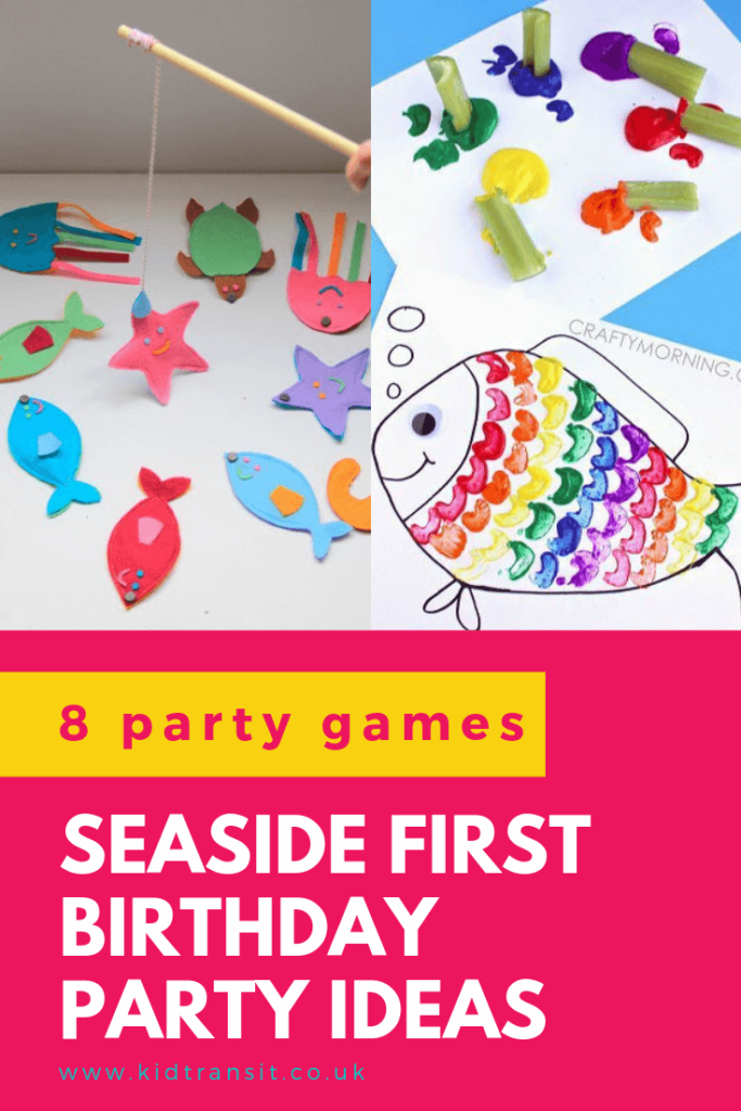Check out 8 fun party games and activities for a seaside theme first birthday party