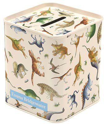 Emma Bridgewater dinosaur money tin