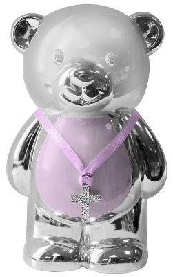 Pink teddy money box