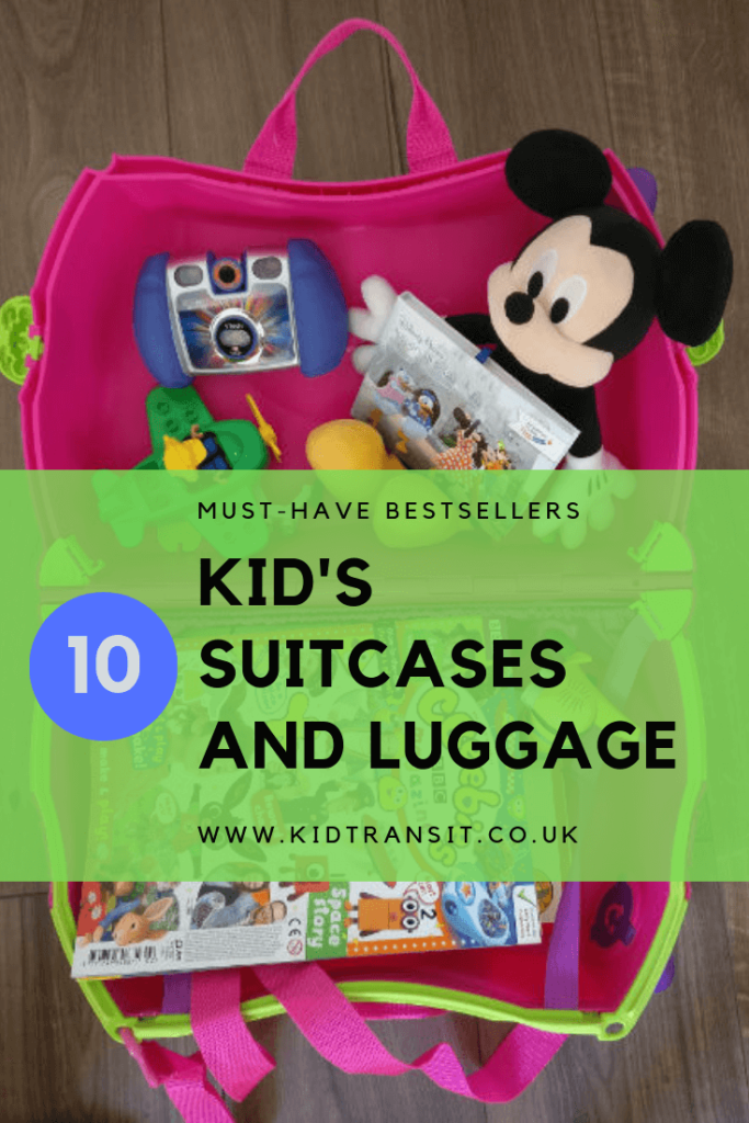 Top 10 Must Have Bestsellers kids suitcases and luggage for a family holiday