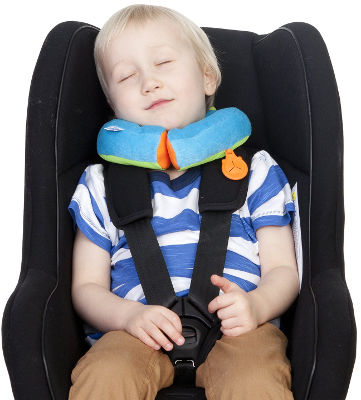 Travel neck pillow by Trunki