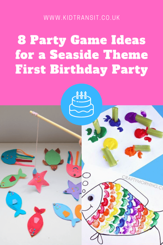 8 great party games and craft ideas for a seaside theme first birthday party