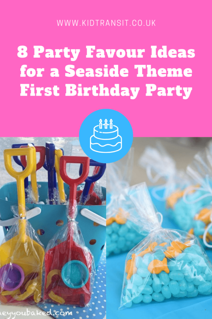 8 inspired party favour ideas for a seaside theme first birthday party