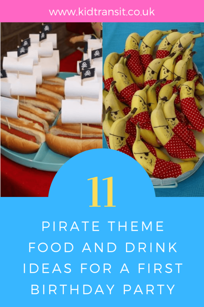 food party birthday pirate drink theme themed kid
