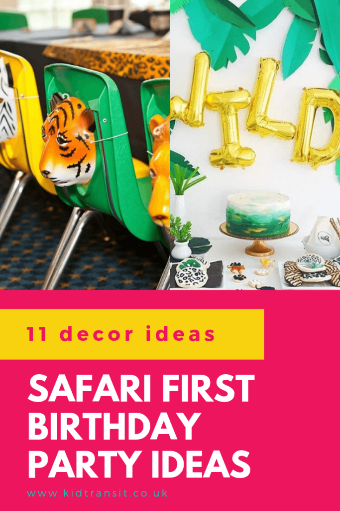 Check out 11 awesome decor ideas for a safari theme first birthday party