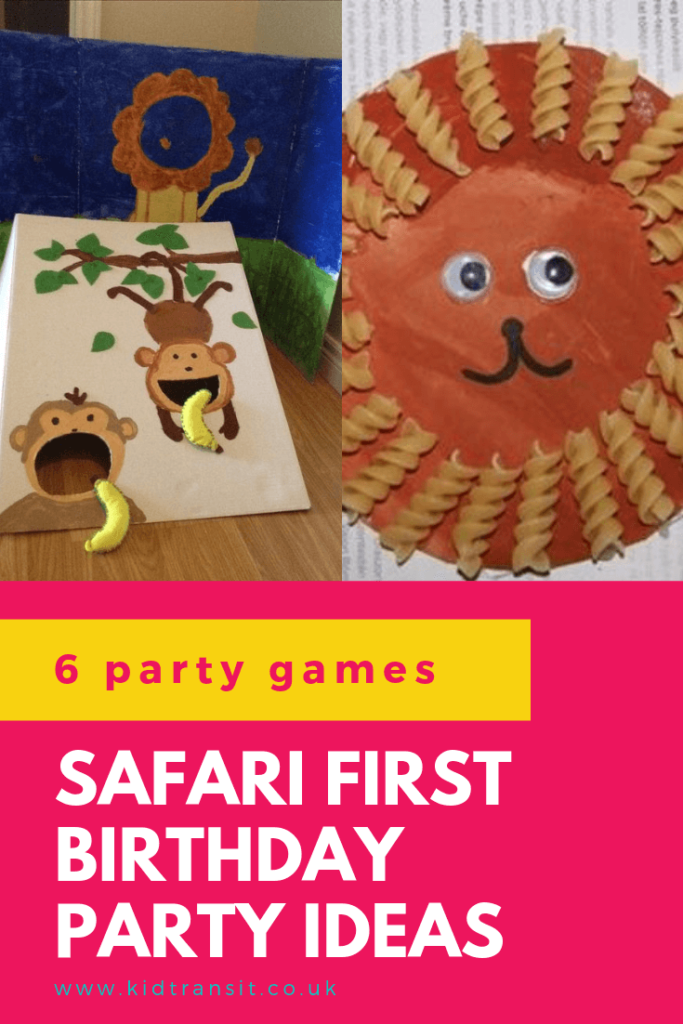 Check out 6 awesome party games and activities ideas for a safari theme first birthday party