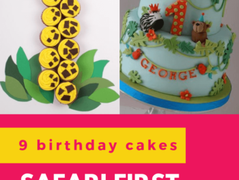 Check out 9 delicious birthday cake ideas for a safari theme first birthday party