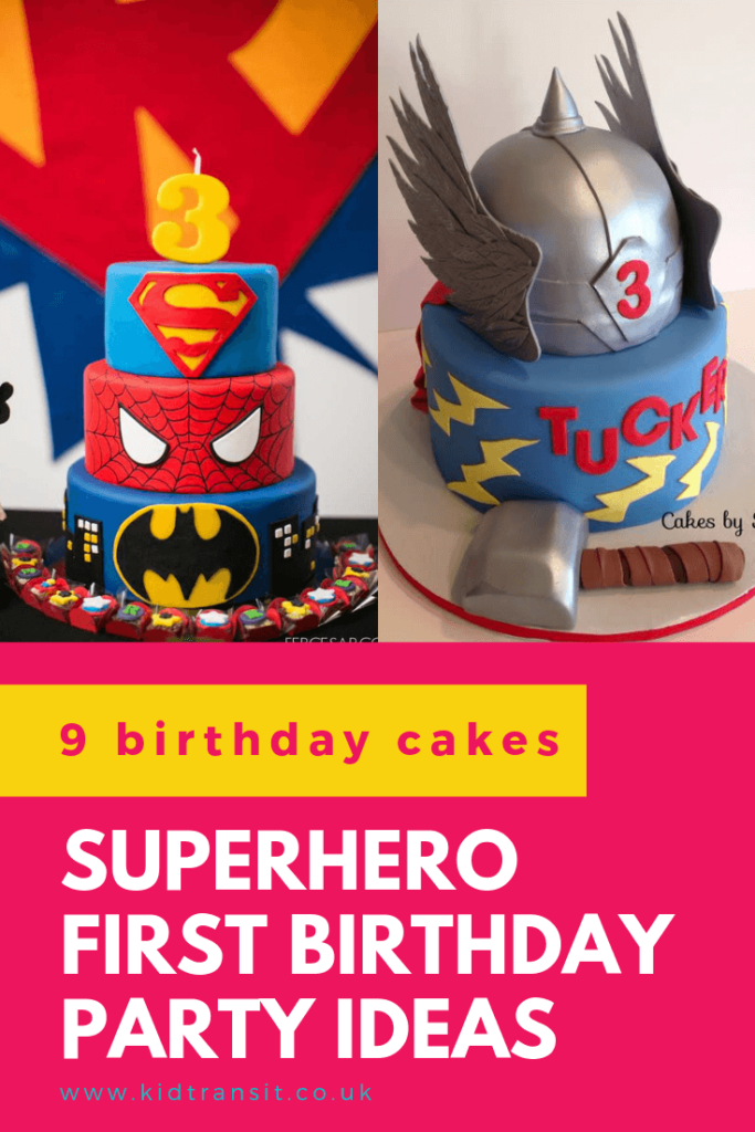 Check out 9 delicious birthday cake ideas for a superhero theme first birthday party