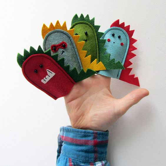 How to host dinosaur theme birthday party dinosaur finger puppets