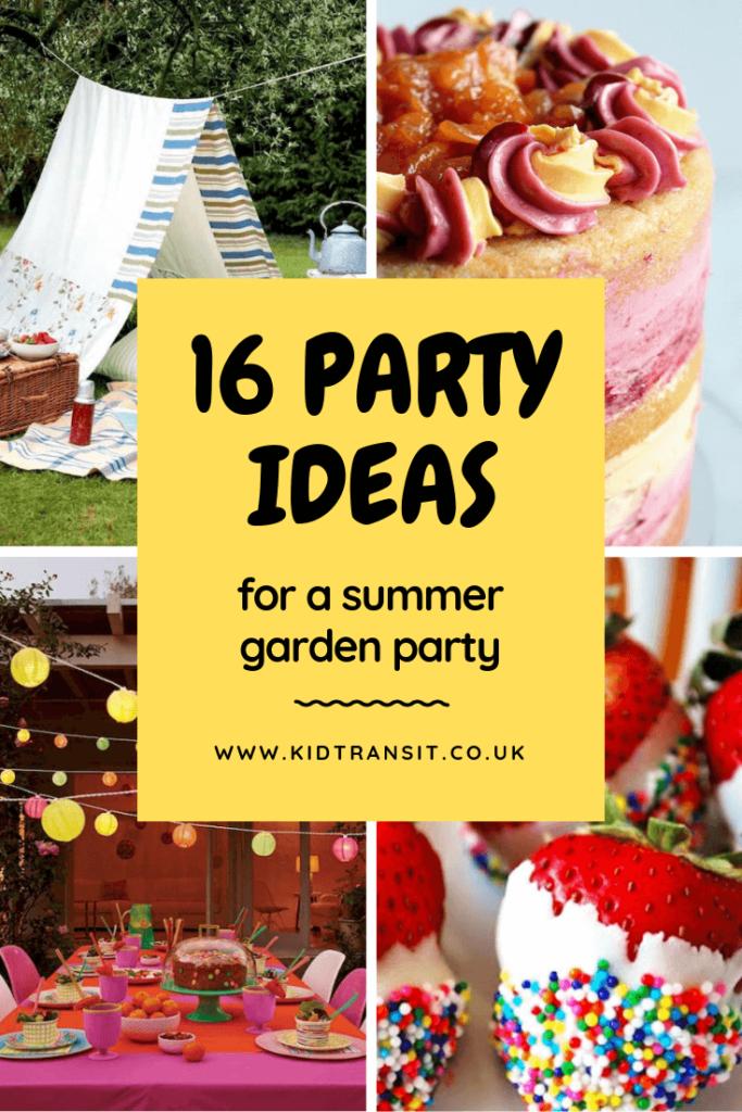 16 summer party ideas for a fabulous backyard garden party