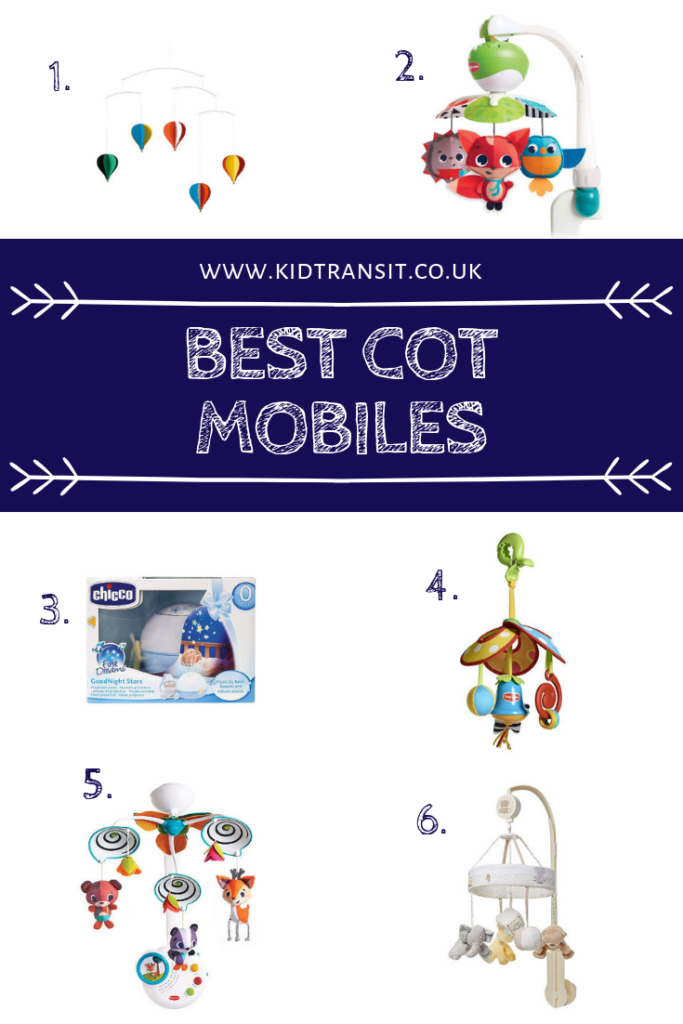All the best selling cot and crib mobiles for your baby. Find musical ones as well as ones to take along when you're out with the pram or stroller.
