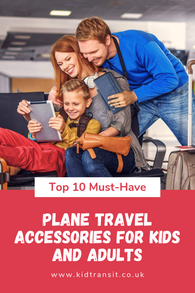 All the accessories you need to make plane travel with kids so much easier and relaxing.