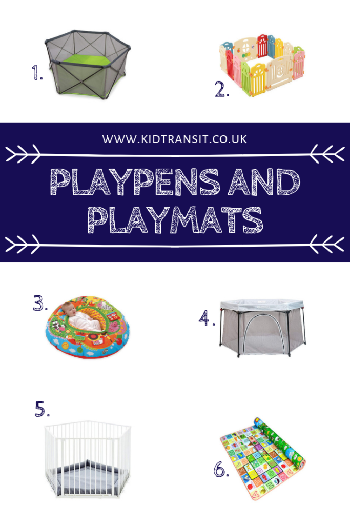 All the best selling playpens and playmats for babies and toddlers- make sure you take a look at the pop-up options available!