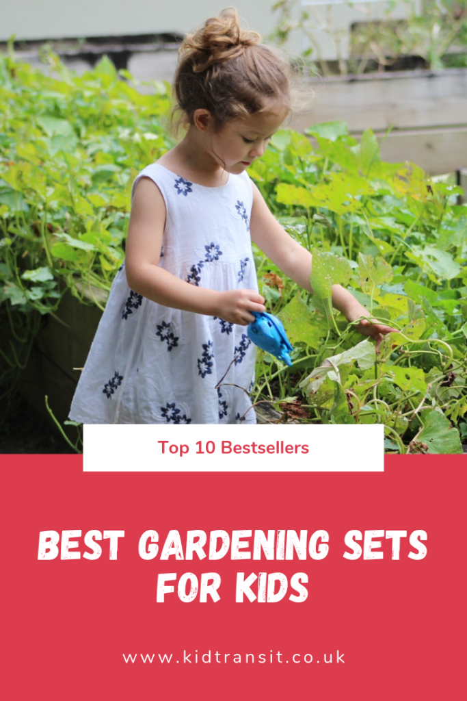 Bestselling gardening sets for kids this summer. Get your children outside learning to plant and grow with a fairy garden and more.