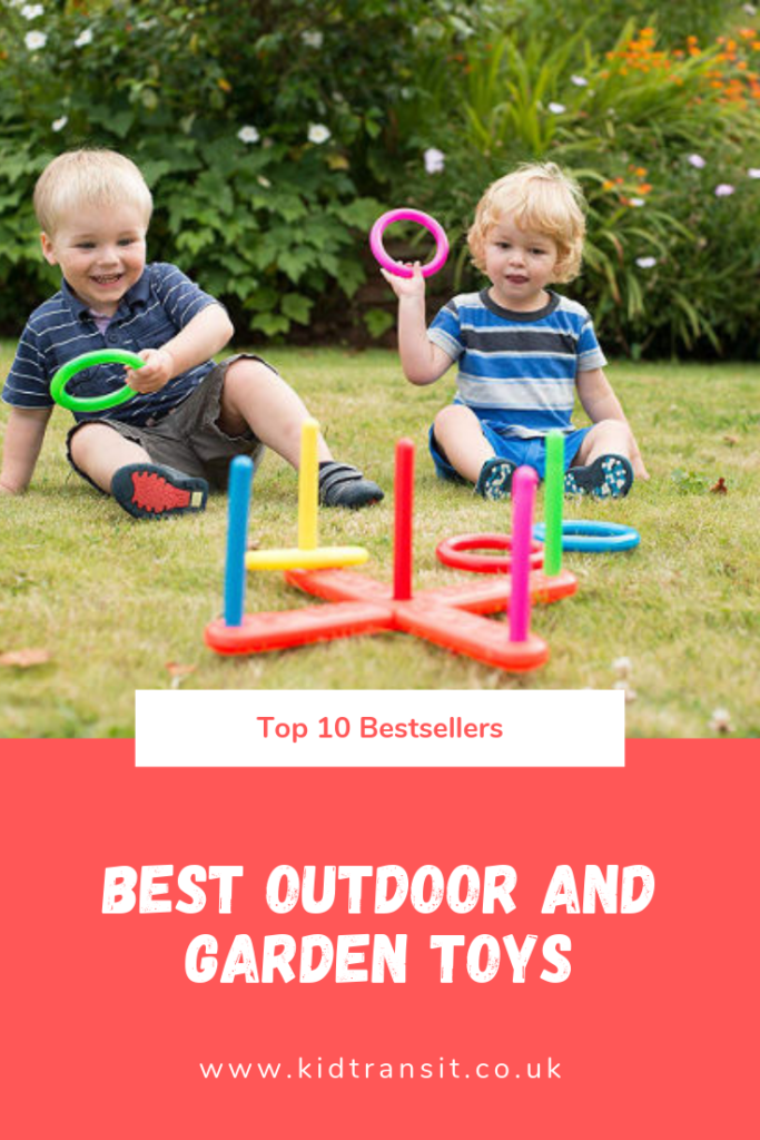 Bestselling outdoor and garden toys for kids this summer.