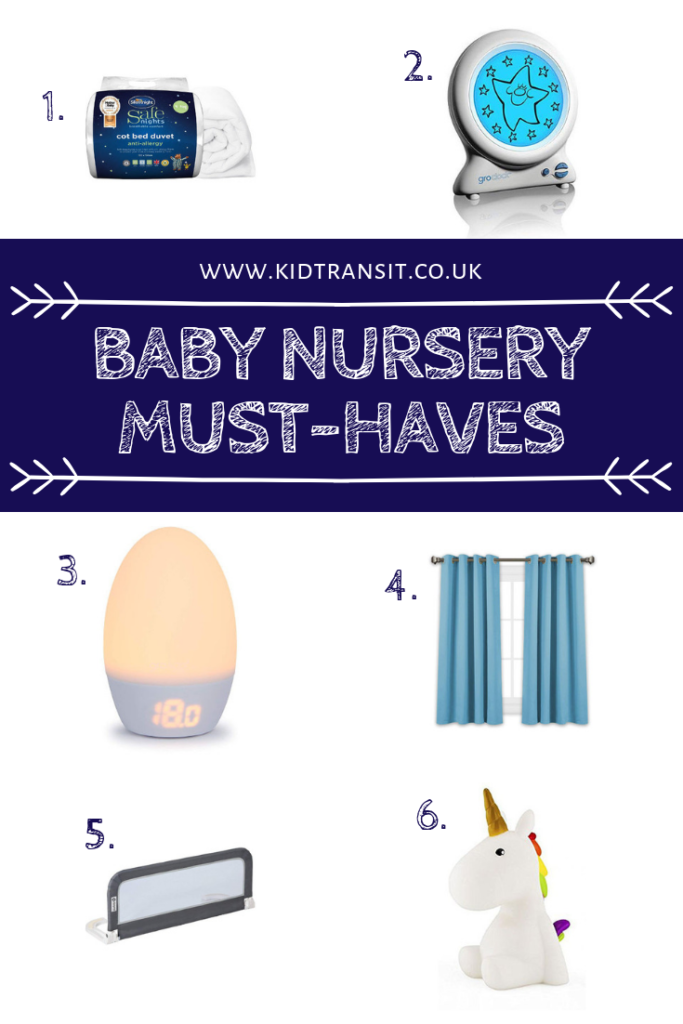 Design the perfect nursery for your baby with all the must-have products that will make them sleep soundly.