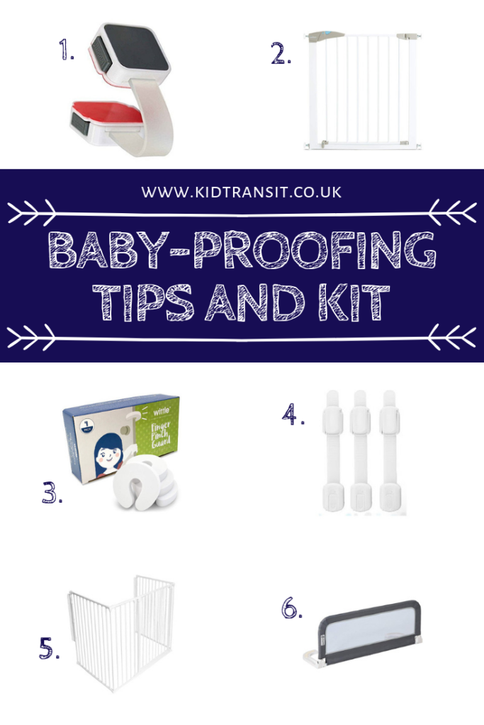 Keep your baby safe when they start to walk with these baby-proofing tips and the bet kit to buy for your house.