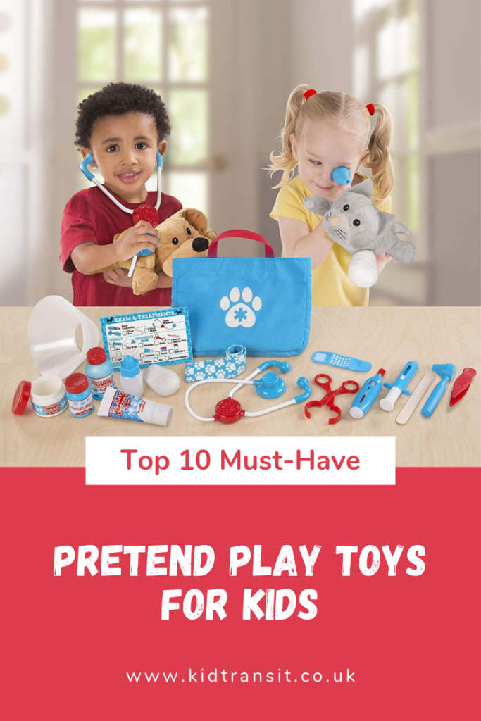 Spark your child's imagination with one of these bestselling pretend play toys- from vet pet play to kitchen fun, there's a toy for every child.