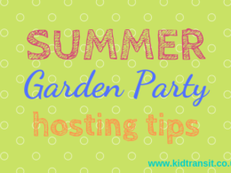 Summer garden birthday party hosting tips and tricks