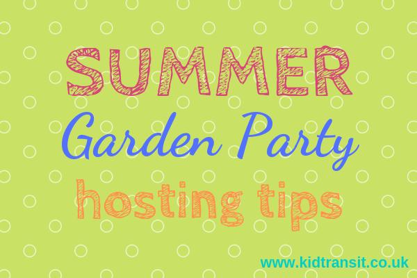 Summer garden birthday party hosting tips and tricks