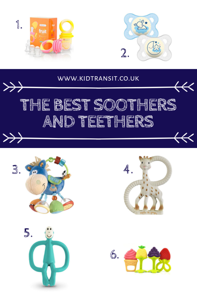 Tackle teething pain head-on with the best soothers and teethers- all baby (and Mommy) approved!