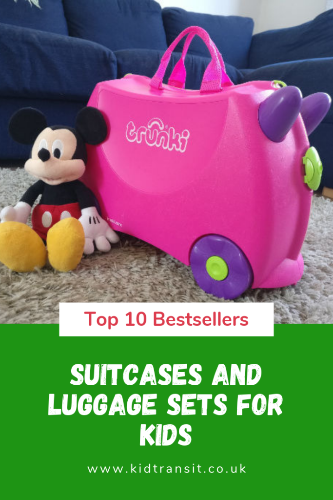 The best kid's suitcases and luggage sets for all types of family holidays and trips away. Find the perfect cabin bag for your child.