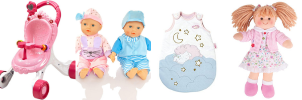 Baby doll toys for 1 year olds