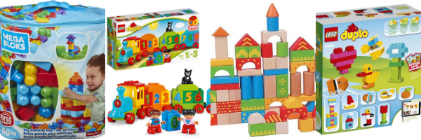 Building and construction toys for 1 year olds