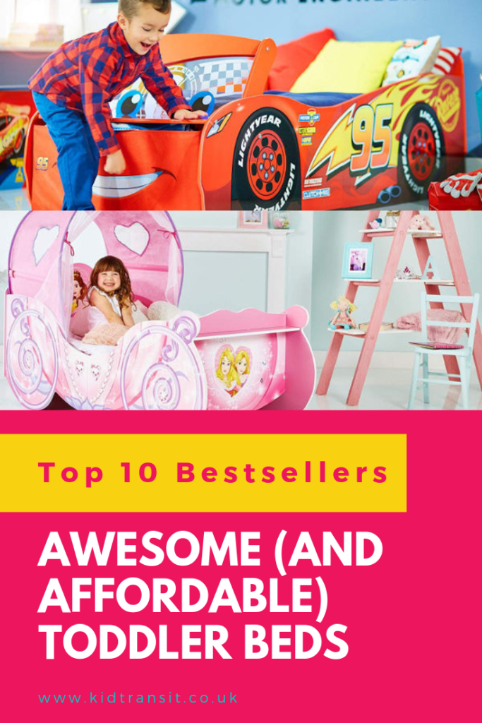 Buy your toddler an awesome toddler bed that is affordable as well as fun. Great for making the dreaded transition to a 'big' bed easier.