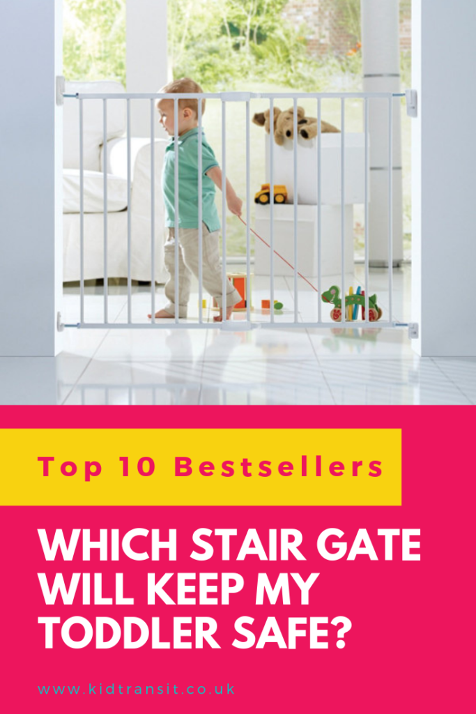 If your baby has started walking you'll need a stair gate to keep them safe. Loads of examples of which safety gate to buy and why the different designs are suited to different areas in your house.