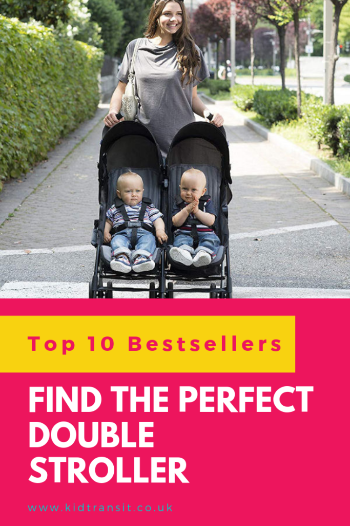 If you have twins or a newborn and a toddler then you must be in the market for a double stroller. Here's some of the best I could find on Amazon