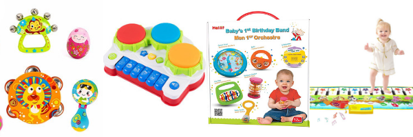 Musical instrument toys for 1 year olds