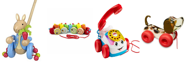 Pull along and push along toys for 1 year olds