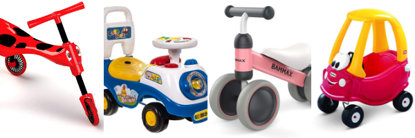 Ride-on toys for 1 year olds