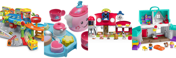 Small world play set toys for 1 year olds