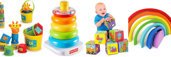 Stacking toys for 1 year olds