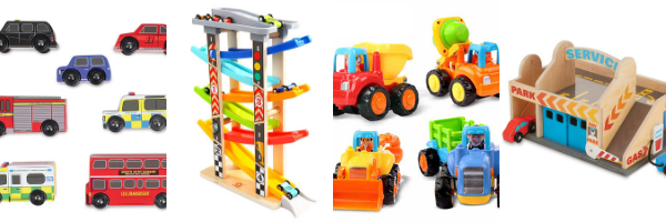 Vehicle toys for 1 year olds