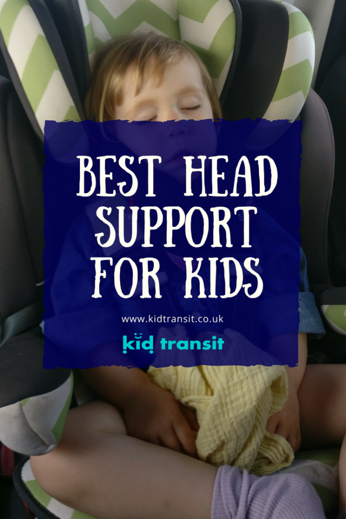 The best head support for babies and toddlers to stop their heads lolling when they sleep in the car