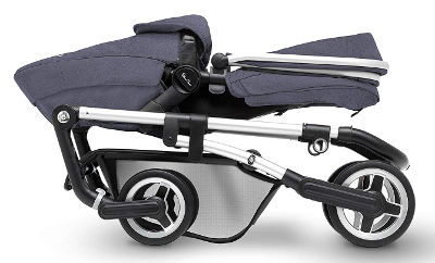 Silver Cross Wayfarer pushchair folded