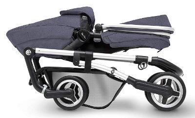Silver Cross Wayfarer pushchair folded