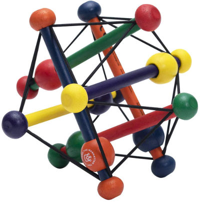 Skwish rattle and teether toy