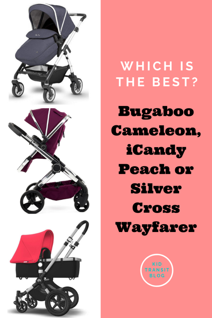 Which is the best pushchair and pram system_ We compare the Bugaboo Cameleon, iCandy Peach and Silver Cross Wayfarer.