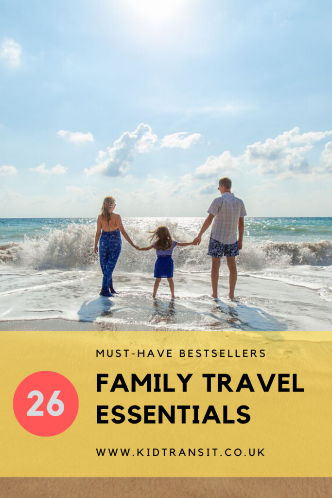 26 family travel essentials for babies and toddlers to make packing a breeze and your holiday fun!