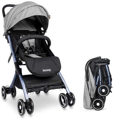 Besrey travel lightweight stroller