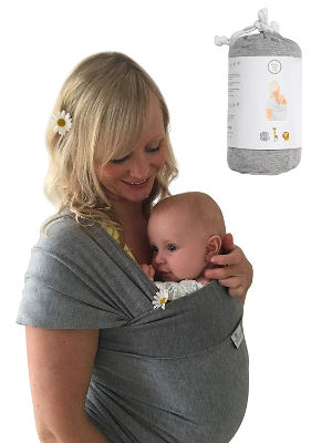 DaisyGro baby sling baby wrap carrier
