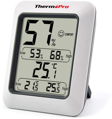 Digital indoor room thermometer
