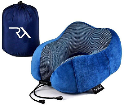 Travel neck pillow by Raha