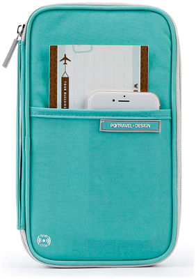 Travel wallet document holder